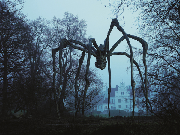 Louise Bourgeois, Maman, 1999, at Wanås 2007, The Wanås Foundation, Sweden, Photo: Anders Norrsell