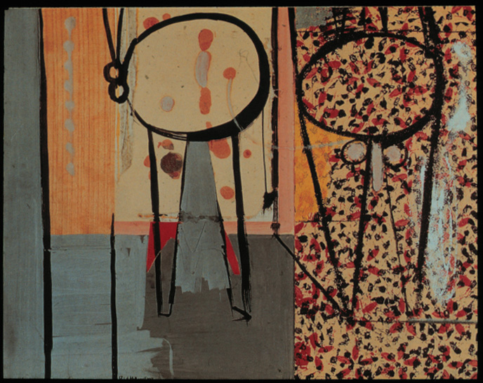 Robert Motherwell, Poncho Villa, Dead and Alive, 1943